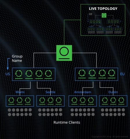 Private Distribution Network Topology Diagram (Graphic: Business Wire)