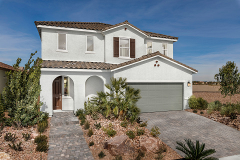 KB Home announces the grand opening of Landings and Reserves at Sage Glen, two new-home communities in popular Southwest Las Vegas. (Photo: Business Wire)