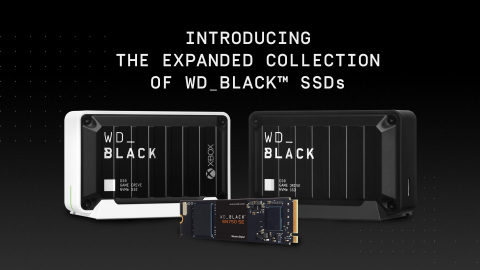 New WD_BLACK SSD storage drives deliver the speed and capacity gamers need for quick access to their favorite games. (Photo: Business Wire)