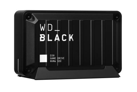WD_BLACK D30 Game Drive SSD (Photo: Business Wire)