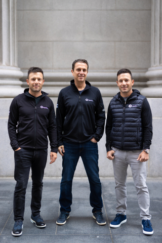 SpotOn Co-Founders Zach Hyman, Doron Friedman, and Matt Hyman close on $125 Million in Series D funding led by Andreessen Horowitz. (Photo: Business Wire)