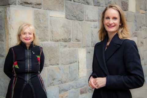 The Centre for Women Entrepreneurship and Leadership at the John Molson School of Business at Concordia University, Montreal, will be led by co-directors, at left, Louise Champoux-Paillé, (practice) and, at right, Ingrid Chadwick (academic). (Photo: Business Wire)
