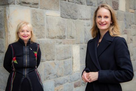Situé à l'École de gestion John-Molson, le Centre d'entrepreneuriat et de gestion au féminin Barry-F.-Lorenzetti sera codirigé par, à gauche, LouiseChampoux-Paillé (volet pratique) et, à droite, IngridChadwick (volet éducatif). (Photo: Business Wire)