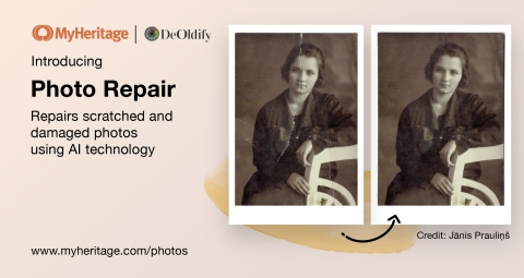 Introducing Photo Repair (Photo: Business Wire)