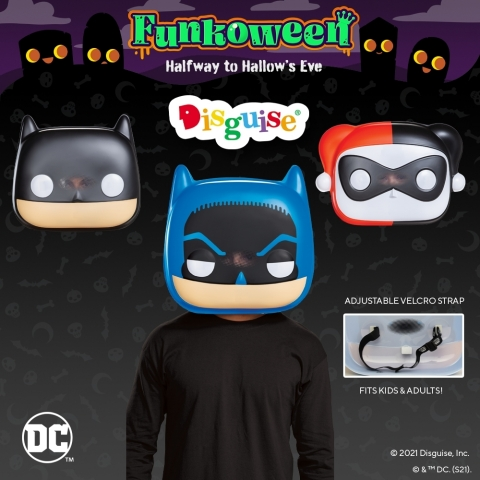 DC Funko Masks by Disguise (Graphic: Business Wire)