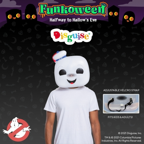 Ghostbusters Funko Masks by Disguise (Graphic: Business Wire)