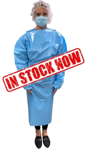 Vonco's Level 2 Non-Sterile Isolation Gowns are intended to protect the wearer from the transfer of microorganisms and bodily fluids in low- or minimal-risk patient isolation situations. These gowns meet the requirements of AAMI PB70:2012 for critical zone areas, and the flammability requirements of 16 CFR Part 1611. (Photo: Business Wire)
