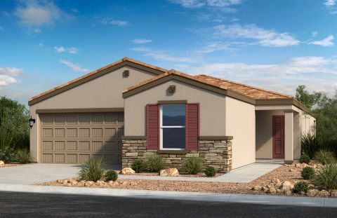 KB Home announces the grand opening of McCartney Center Collection, a new-home community in a popular Casa Grande, Arizona master plan. (Photo: Business Wire)