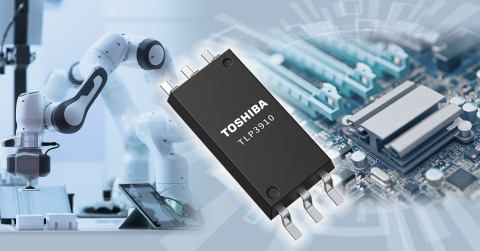 """Toshiba: a photovoltaic-output photocoupler """"TLP3910"""" for isolated SSRs. (Graphic: Business Wire)"""