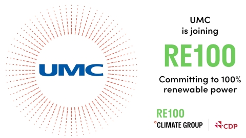 UMC is joining RE100 (Graphic: Business Wire)