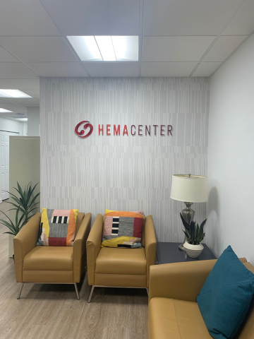 HemaCenter, LLC, a wholly-owned subsidiary of OrganaBio, LLC, conducts leukapheresis collections at its South Miami, FL location. (Photo: OrganaBio)