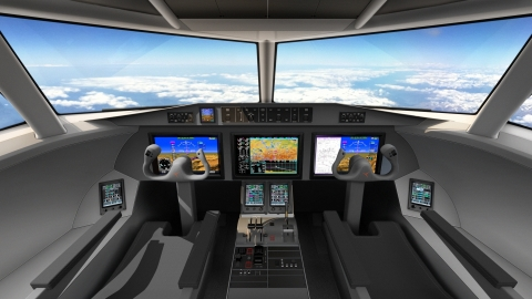 The Garmin G5000 integrated flight deck was selected by Deutsche Aircraft for their D328eco regional turboprop, expected to provide the regional air transportation market a more sustainable and environmentally friendly aircraft option by 2025. (Photo: Business Wire)