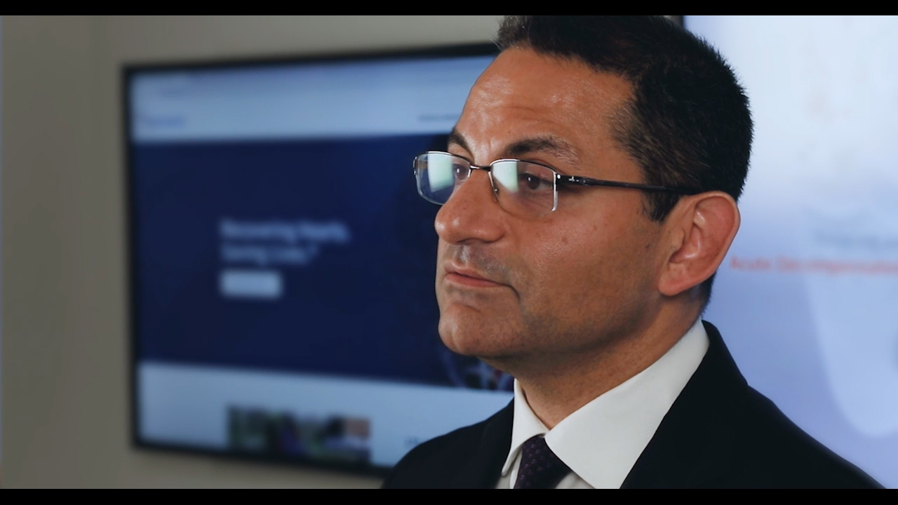 In this two minute video, Navin Kapur, MD, discusses the preCARDIA technology.
