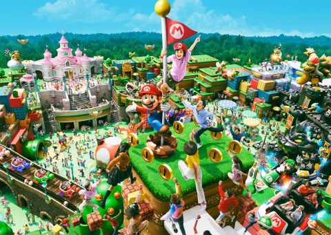 Photo by Universal Studios Japan (C) Nintendo (Graphic: Business Wire)