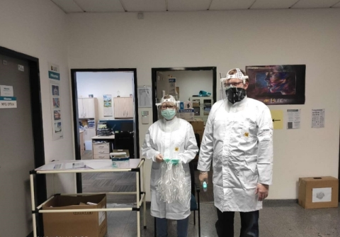 Hisense spares no efforts to assure employees' and their families' health during the pandemic (Photo: Business Wire)