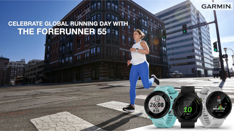 Introducing the Forerunner 55 by Garmin (Photo: Business Wire)