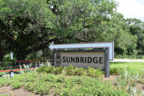 Sunbridge Welcome Sign (Photo: Business Wire)