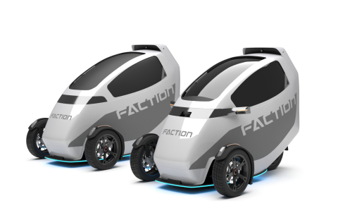 Faction T1 Cargo + Rider Prototypes (Photo: Business Wire)