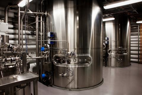 Large-scale Biomanufacturing facility, Windsor, Nova Scotia (2 x 17,000 L Fermentors) (Photo: Business Wire)