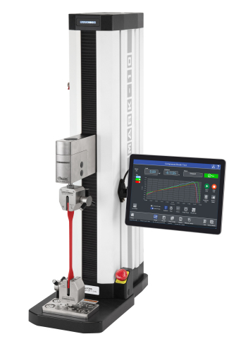 The new Series F force testers from Mark-10 integrate IntelliMESUR software for machine control, force measurement, and data acquisition in a single clean graphical user interface (Photo: Business Wire)
