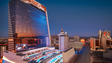 Circa Resort and Casino, downtown Las Vegas' newest hotel and entertainment venue, has selected an Aruba ESP-based network to deliver unique and immersive guest experiences. (Photo: Circa Resort and Casino)