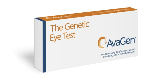 AvaGen is the first genetic test that helps determine a patient's risk of keratoconus and the presence of other corneal dystrophies. (Photo: Business Wire)