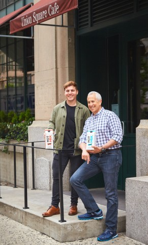 NotCo founder and CEO, Matias Muchnick, with Union Square Hospitality Group (USHG) CEO and founder Danny Meyer (Photo: Business Wire)