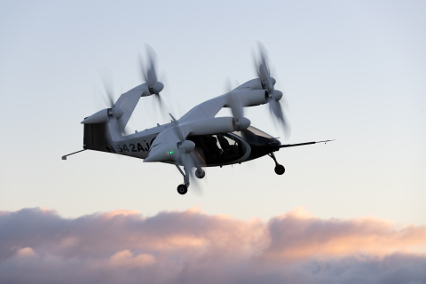 Joby Aviation Aircraft in Flight (Photo: Business Wire)