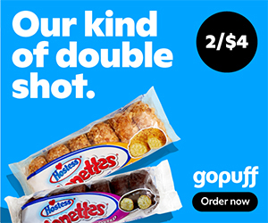 Order Donettes through Gopuff to receive a discount – 2 single-serve Donettes packs for $4 and/or a $1 off bags of Donettes – from May 31 through June 7, 2021. (Graphic: Business Wire)