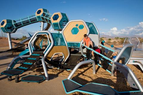 Children at playground in Arizona (Photo: Business Wire)