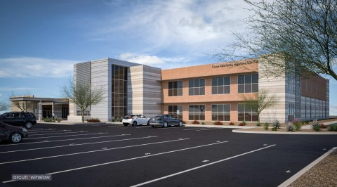 Yuma Regional Medical Center Exterior Rendering (Photo: Business Wire)