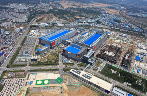 Samsung Electronics' Pyeongtaek Campus, South Korea (Photo: Business Wire)
