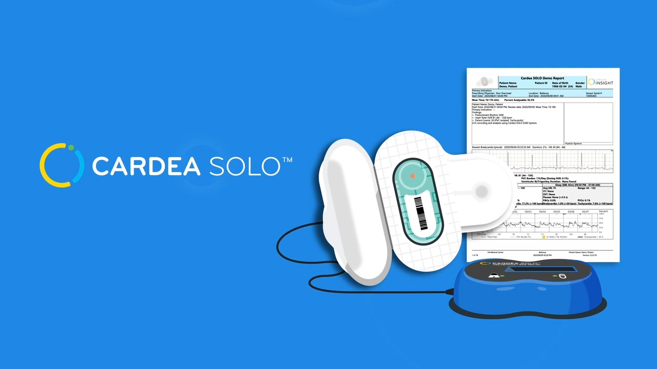 Watch to learn more about the benefits to using Cardea SOLO for your ambulatory cardiac monitoring.