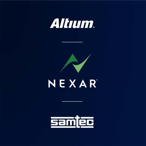 Samtec, a leading component manufacturer, joins Altium's Nexar ecosystem of electronic industry partners. (Graphic: Altium LLC)