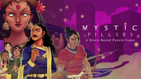 Mystic Pillars: A Story-Based Puzzle Game is an intriguing blend of puzzles and an immersive storyline set in ancient India. (Photo: Business Wire)