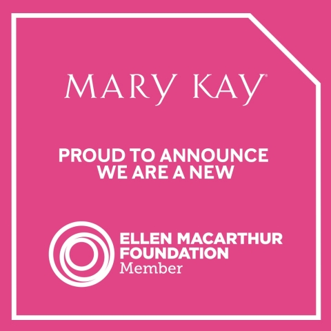 Mary Kay is committed to reducing its environmental footprint and is taking steps to improve efficiency in its operations, thinking long term to incorporate responsible business practices. (Graphic: Mary Kay Inc.)