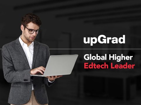 upGrad, Global Higher Edtech Leader (Photo: Business Wire)