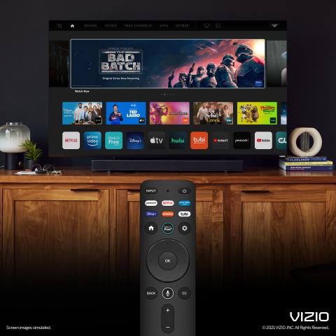 SmartCast and VIZIO Voice Remote (Photo: Business Wire)