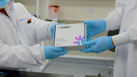 Galleri multi-cancer early detection test (Photo: Business Wire)