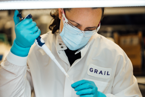 In the GRAIL lab (Photo: Business Wire)