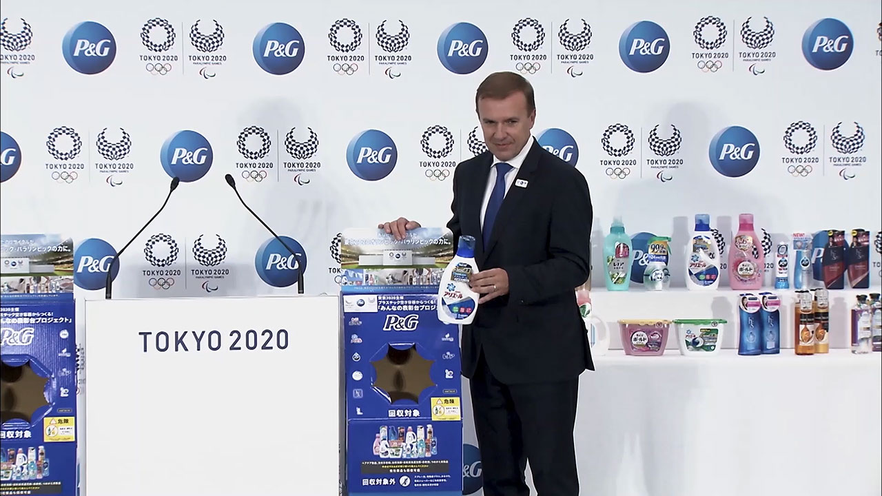 Protecting the planet is incredibly important for P&G and its brands, so they wanted to use the Podium Project as a catalyst to inspire actions that have a positive impact on the environment and society