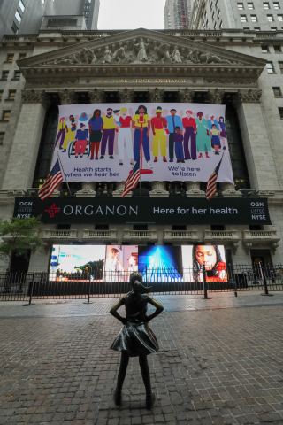"""Organon's """"Wall of Voices"""" brings hundreds of voices from around the world together to highlight unmet needs. (Photo: Business Wire)"""