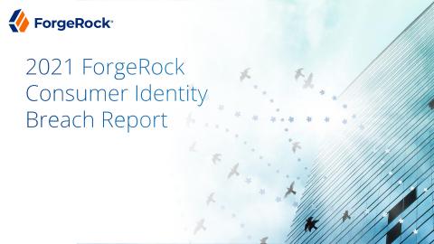 2021 ForgeRock Consumer Identity Breach Report (Graphic: Business Wire)