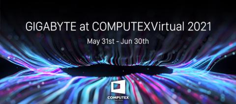 GIGABYTE et ses innovations high-tech vont «Donner vie à l'intelligence» au Forum COMPUTEX 2021 (Photo: Business Wire)