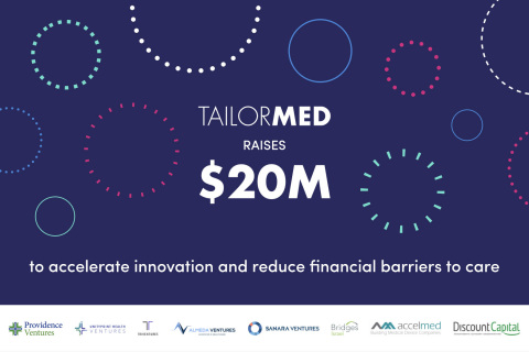 TailorMed Fuels Further Growth with a $20 Million Financing, Led by Providence Ventures (Photo: Business Wire)