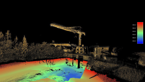 The Seabed lidar system, equipped with a Velodyne Lidar Puck™ sensor, conducts hydrographic surveys of inshore, nearshore and inland waterways. It collects 3D data to support sustainable planning that can help protect sensitive environments. (Photo: Business Wire)