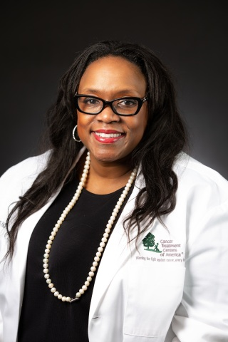 Dr. Anita Johnson serves as CTCA® National Breast Cancer Program Director and CTCA Atlanta Chief of Surgery and Breast Surgical Oncologist. (Photo: Business Wire)