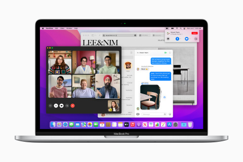 Unveiled at WWDC21, macOS Monterey gives users the power to accomplish more than ever. (Photo: Business Wire)