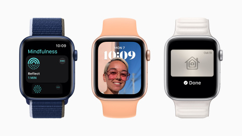 watchOS 8 brings new access, connectivity, and mindfulness features to Apple Watch this fall. (Photo: Business Wire)