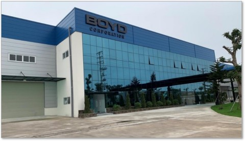 Boyd Corporation's design and manufacturing expansion in Vietnam, pictured here, addresses post globalization, regional demand for innovative engineered material and thermal management technologies that cool seal, and protect the latest innovations in growing mobile, consumer, enterprise, and cloud computing electronics markets. (Photo: Business Wire)